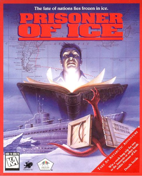Prisoner of Ice - Front Cover